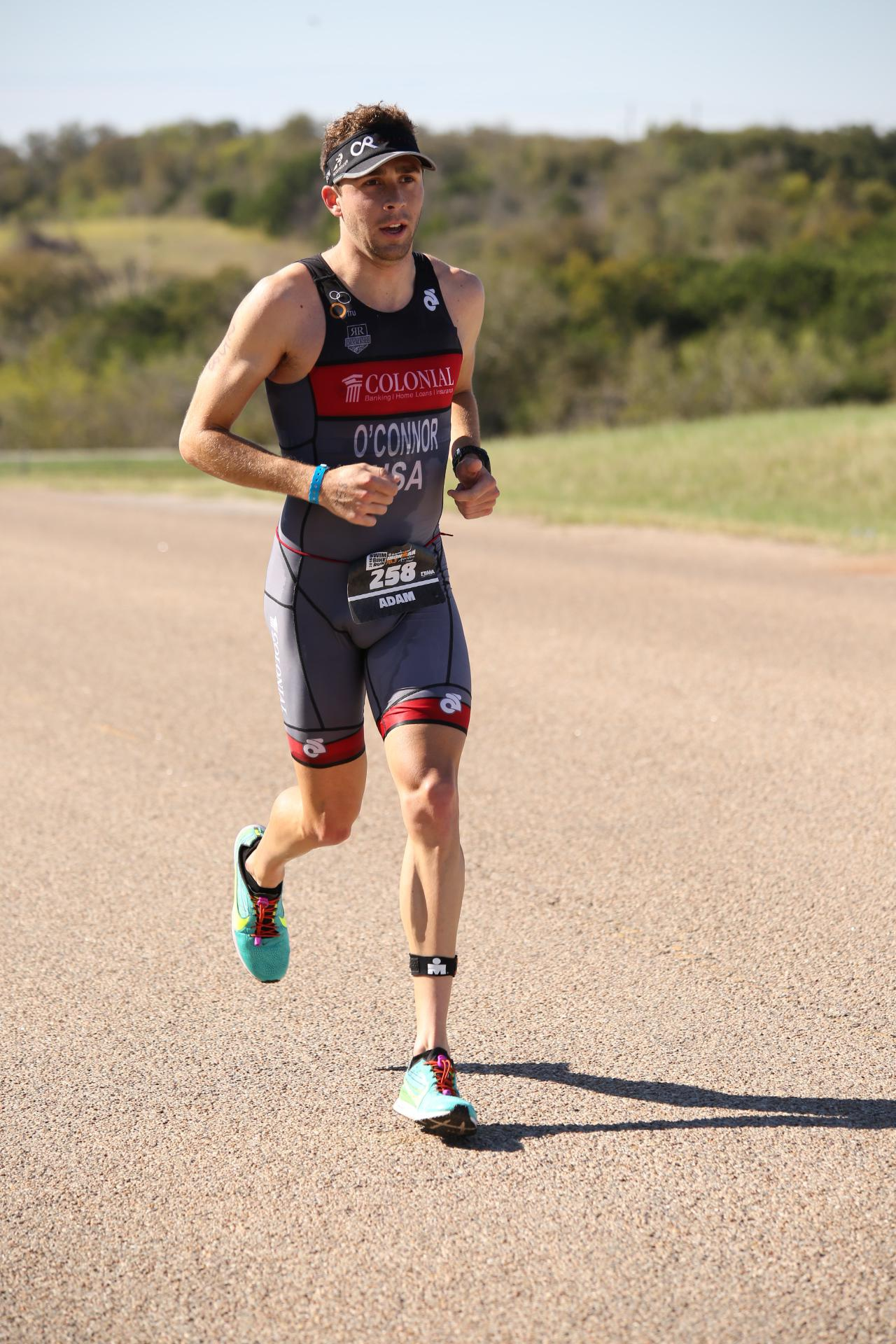 2015 Ironman Austin 70.3 Run