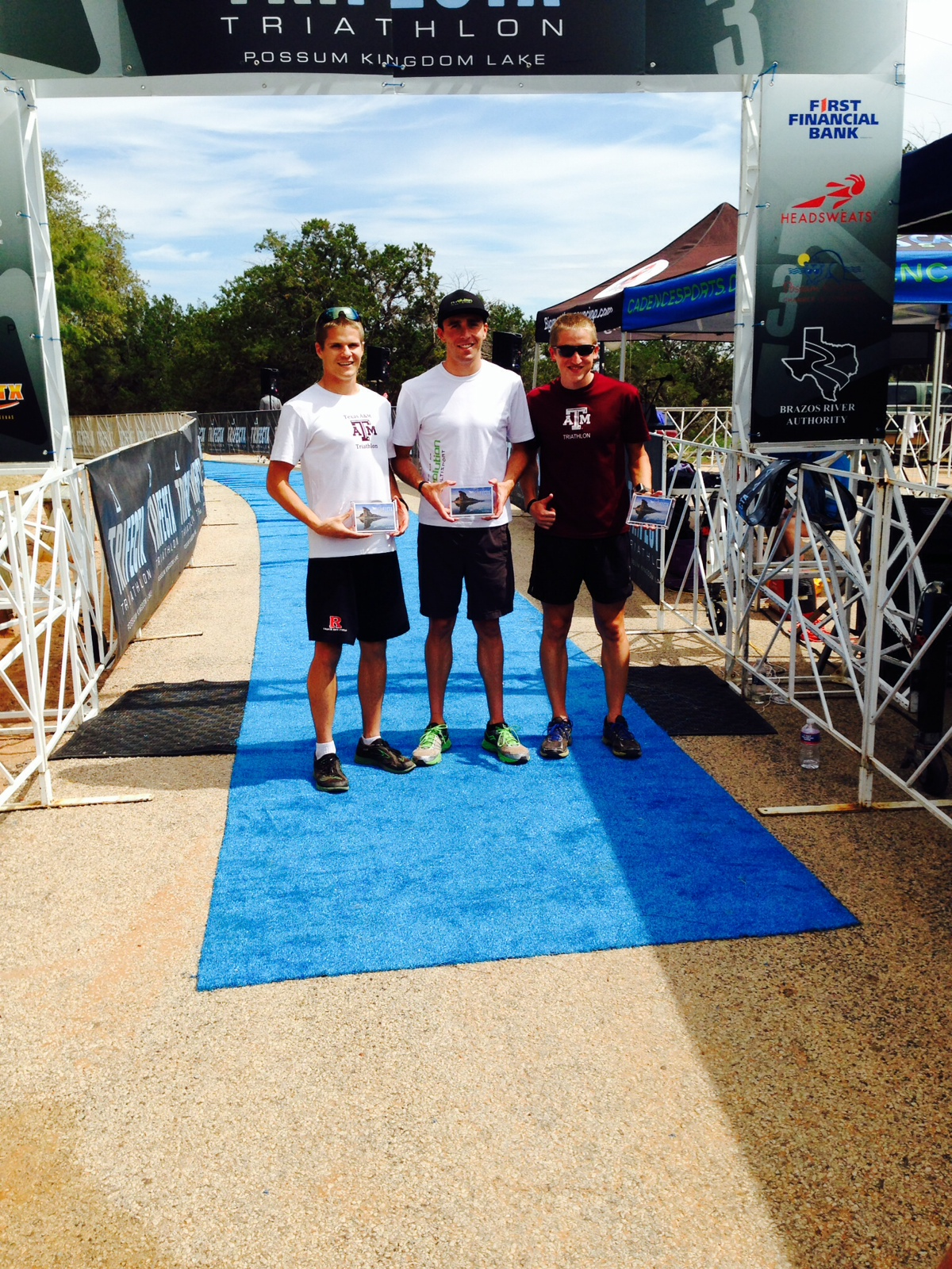 Podium shot at Trifecta 2014