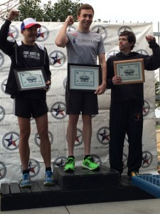 Podium shot at Mean Green 2015